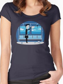 Dreaming of Holidays Women's Fitted Scoop T-Shirt