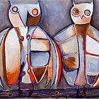 A Pair of Owls by Megan Schliebs