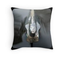 Cadillac Mascot Throw Pillow