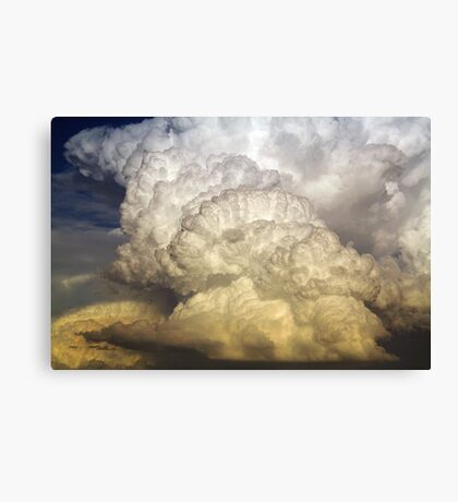 An explosive end - 3 Canvas Print