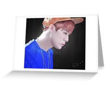 Min Yoongi profile Greeting Card