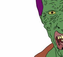 Zombie #1 Sticker