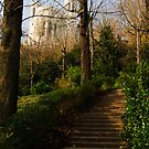 Chemin du Rosaire, Jardin du Rosaire, Lyon, France  by Andrew Jones