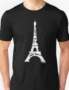 Paris Eiffel Tower White T-Shirt