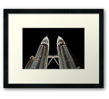 Giants at Night Framed Print