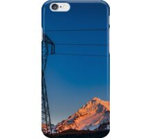 Mount Hood Power iPhone Case/Skin