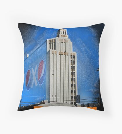 Corporate America Throw Pillow
