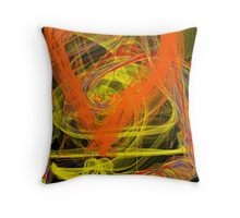 this is titled 'heart tornado' Throw Pillow