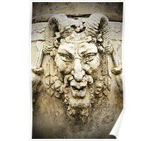 Demon statue Poster