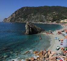 Monterosso in the sun by Renae Walton