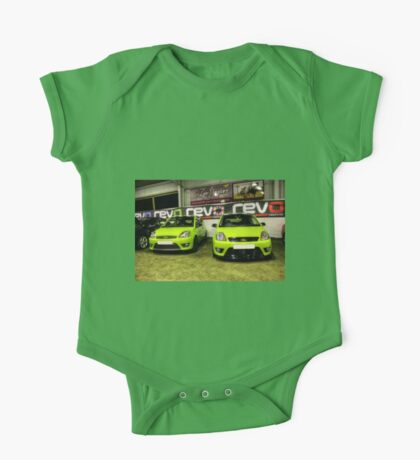 Two Green Fiestas HDR One Piece - Short Sleeve