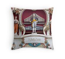 Fairground Organ Throw Pillow