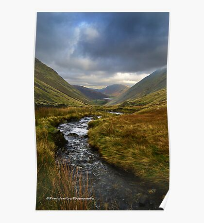 Kirkstone pass looking north Poster