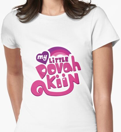 My Little Dovahkiin Womens Fitted T-Shirt