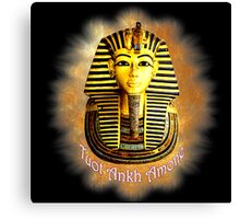 King Tout Ankh Amone Canvas Print