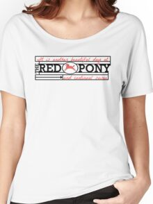 The Red Pony Women's Relaxed Fit T-Shirt