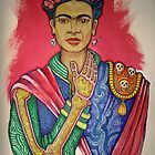 Tribute to FRIDA KAHLO by J-M MACIAS