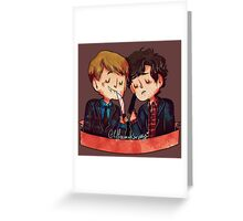 Hannigram 2 Greeting Card
