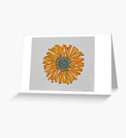 Flowers/23 - Yellow Greeting Card