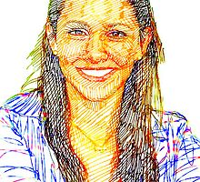 portraits of friends, students etc: Júlia by tiogegeca