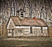 Old School House Barn in Avon by David Owens