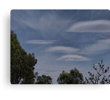 Lenticular Clouds over Yarrawonga Canvas Print
