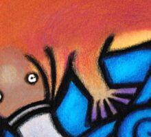 Australiana Platypus Sticker