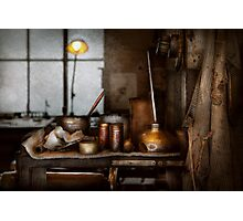 Machinist - Tool - Got Oil Photographic Print
