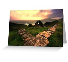 Relics of Ancient Ireland Greeting Card