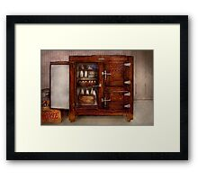Chef - Fridge - The ice chest  Framed Print