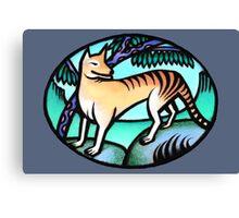 Tasmanian Tiger - prints & cards Canvas Print