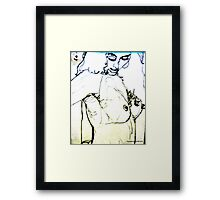 sexy things: pen, pencil & paper (can't remember) Framed Print