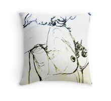 sexy things: pen, pencil & paper (can't remember) Throw Pillow