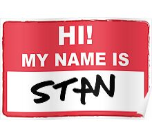 Eminem - Hi My Name Is Stan Poster
