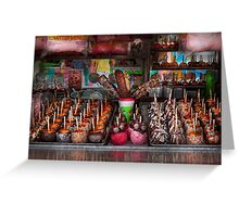 Food - Candy - Chocolate covered everything Greeting Card