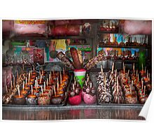 Food - Candy - Chocolate covered everything Poster