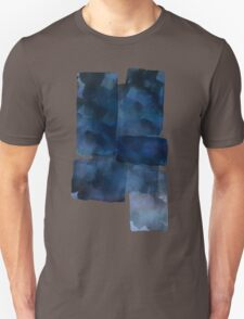 Blue Abstract Painting Unisex T-Shirt