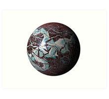 Marmoreal World Art Print