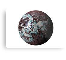 Marmoreal World Metal Print