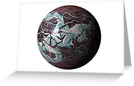 Marmoreal World by Benedikt Amrhein