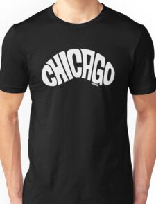 Chicago Bean White Unisex T-Shirt