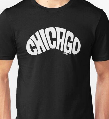 Chicago Bean White Unisex T-Shirt