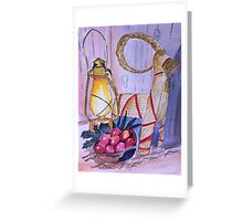 In await for Christmas Greeting Card