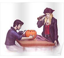 Captain Swan Halloween Poster