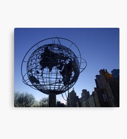 New York City World Canvas Print