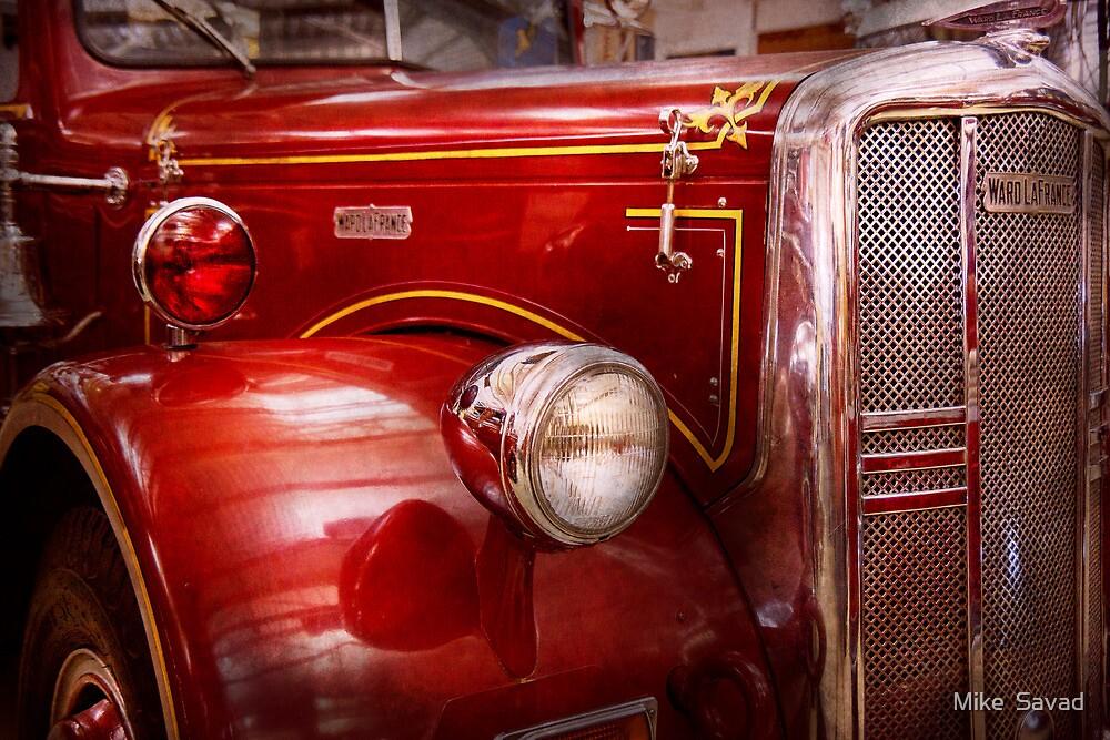 Fireman - Ward La France  by Mike  Savad