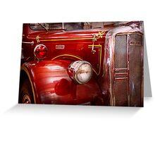 Fireman - Ward La France  Greeting Card