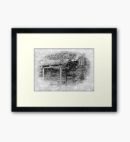 I'll be home for Christmas... © Framed Print