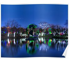 Wildlights at Columbus Zoo 2011 Poster