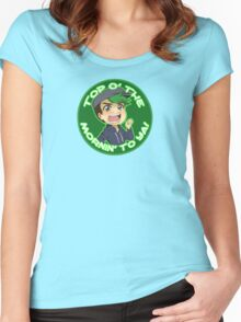 Jacksepticeye-Top o' the Mornin! Women's Fitted Scoop T-Shirt